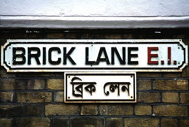 brick lane banglatown london e1